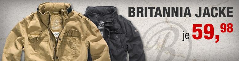 Bundeswehr Brandit Britannia Jacke im Army Style | Kotte