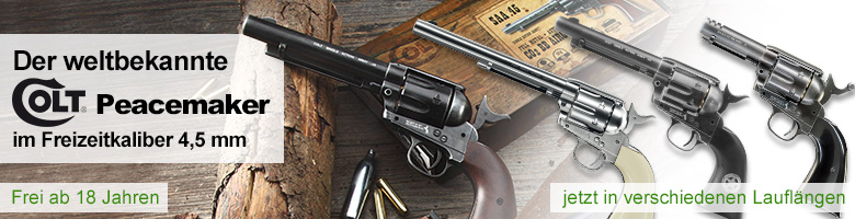 Colt Peacemaker CO2 Revolver 4,5mm