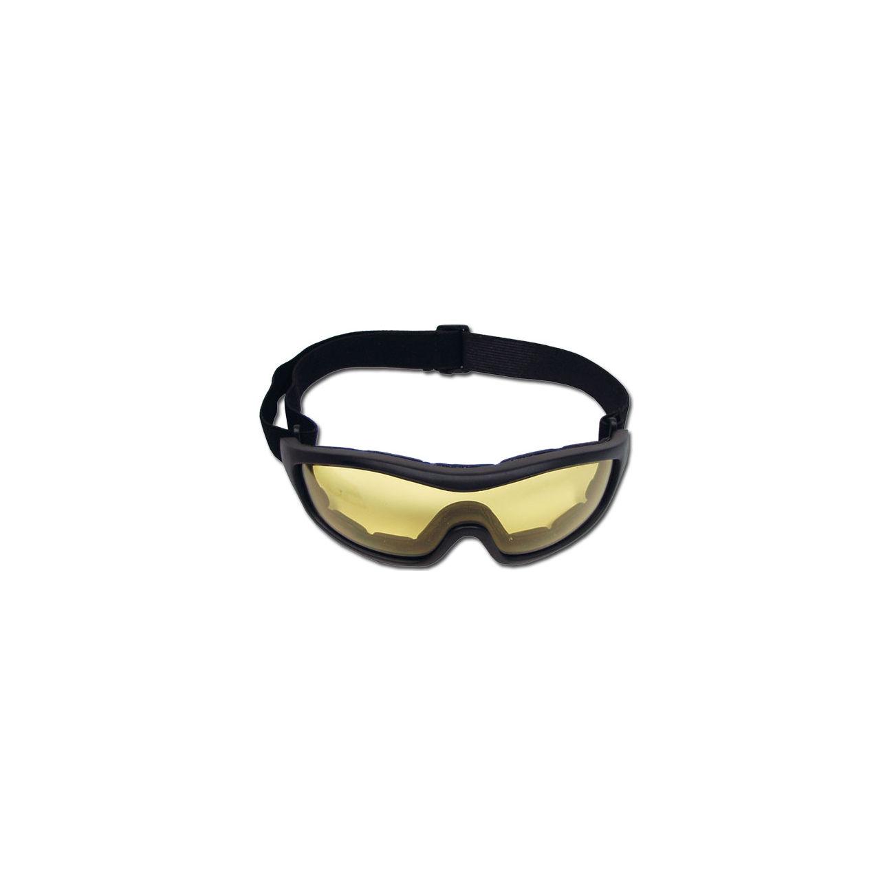 Brille mit gelben gläsern