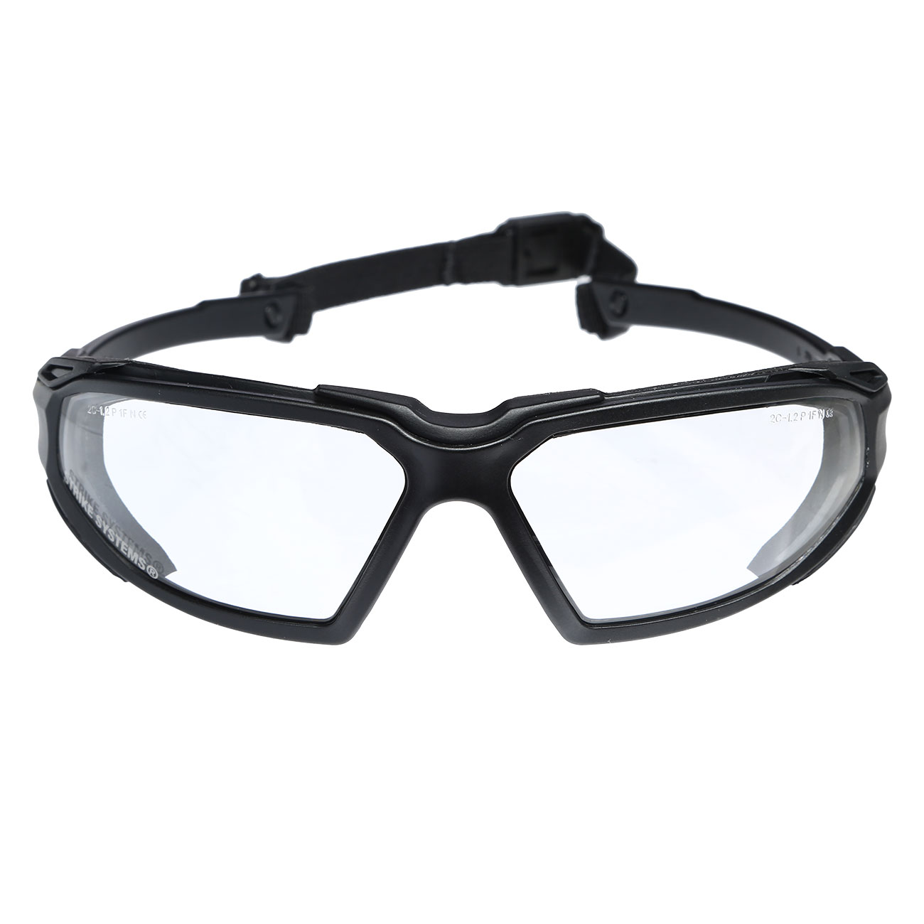 Strike Systems Tactical Schutzbrille klar 2