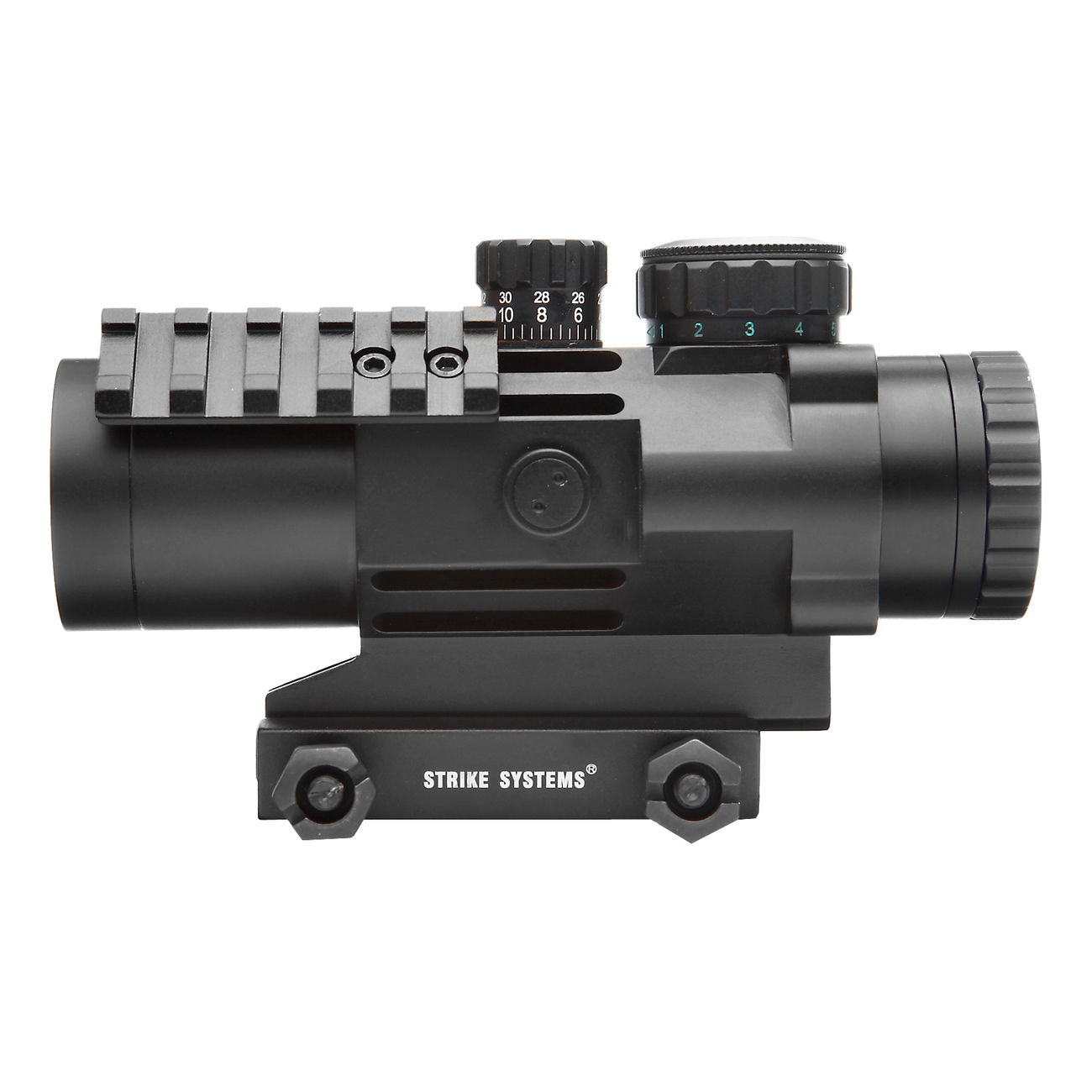 Strike Systems Tactical Red-/Green-Dot Scope mit Zusatzschienen 3x32mm schwarz 2