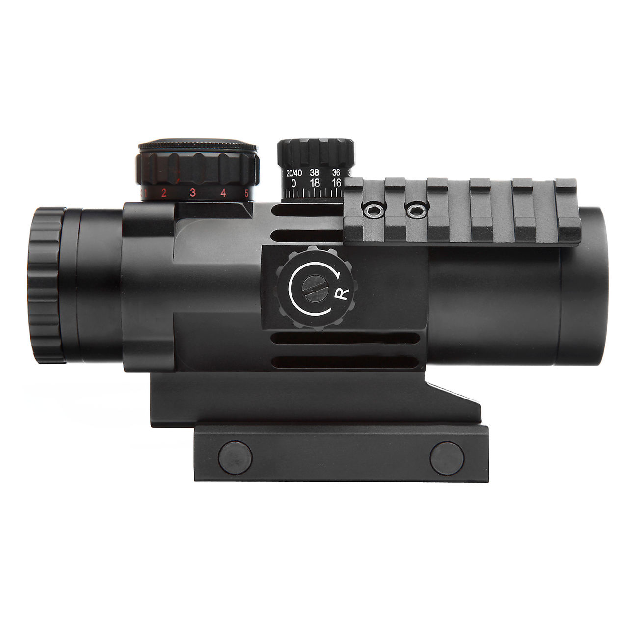 Strike Systems Tactical Red-/Green-Dot Scope mit Zusatzschienen 3x32mm schwarz 3