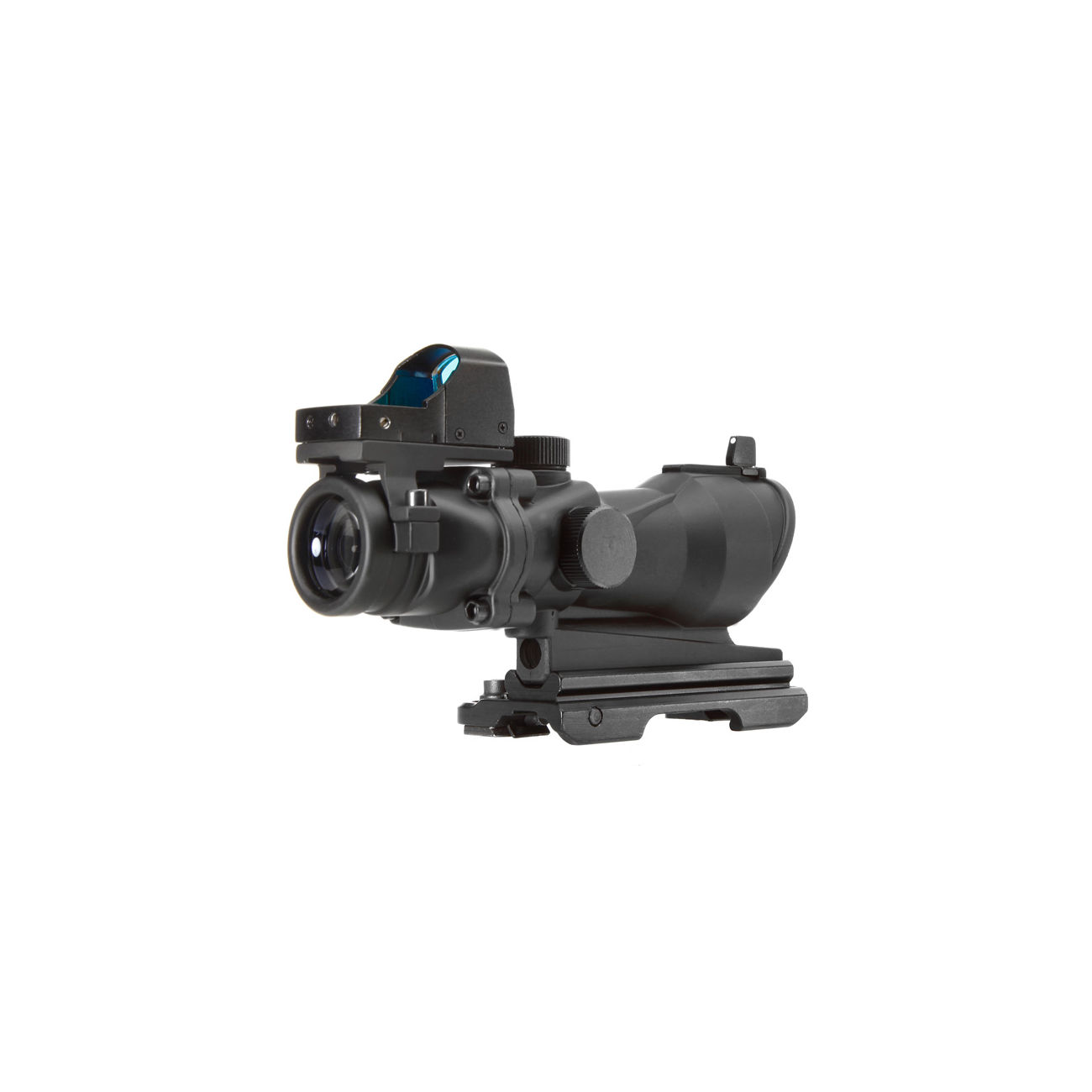 Aim-O TA01 Style Scope 4x32 QD-Mount mit Mini RedDot Visier schwarz 5316-BK 3