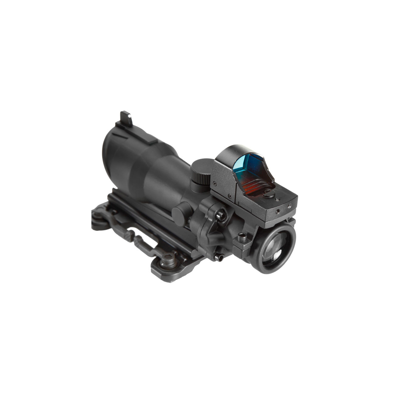 Aim-O TA01 Style Scope 4x32 QD-Mount mit Mini RedDot Visier schwarz 5316-BK 4
