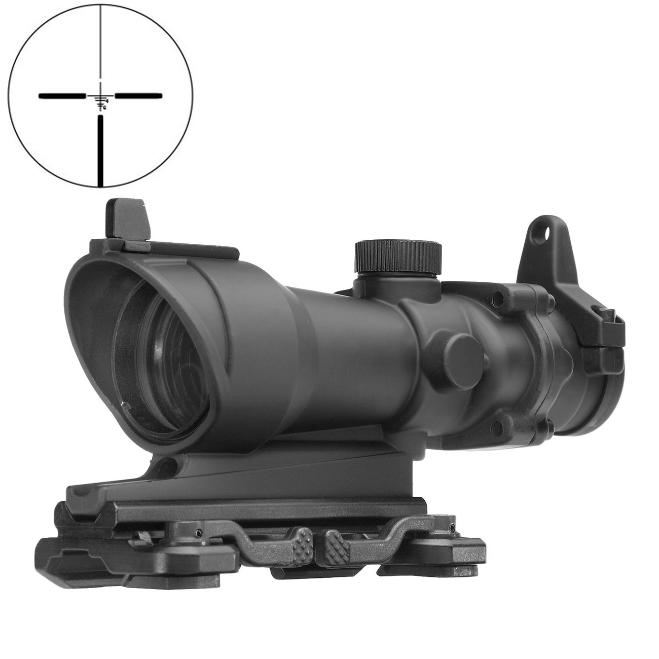 Aim-O TA01 Style Scope 4x32 mit QD-Mount schwarz AO 5310-BK 0