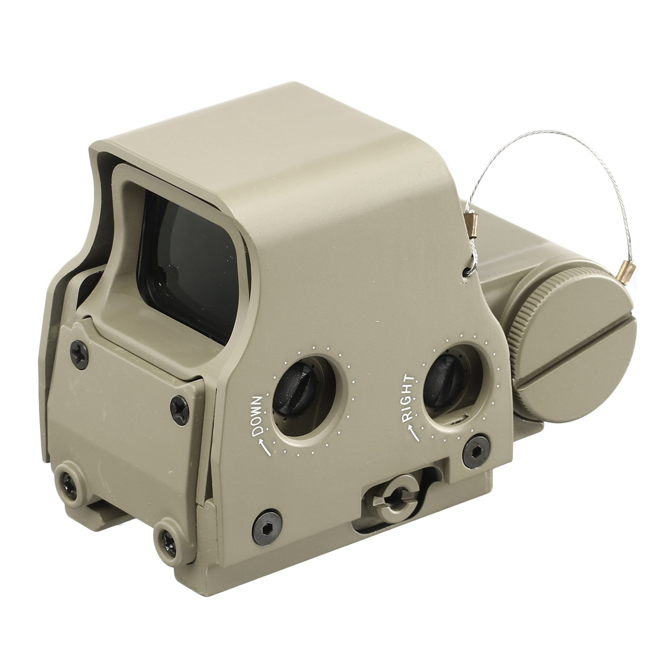 Aim-O X2 Type Holosight rot / grün mit QD Mount tan AO 3056-DE 2