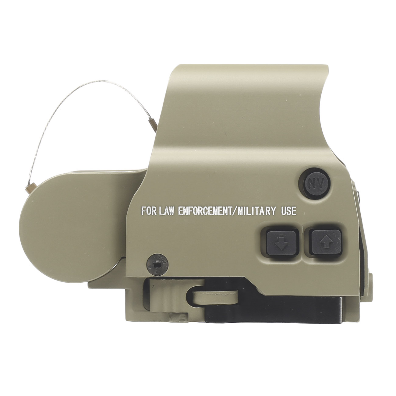 Aim-O X2 Type Holosight rot / grün mit QD Mount tan AO 3056-DE 3
