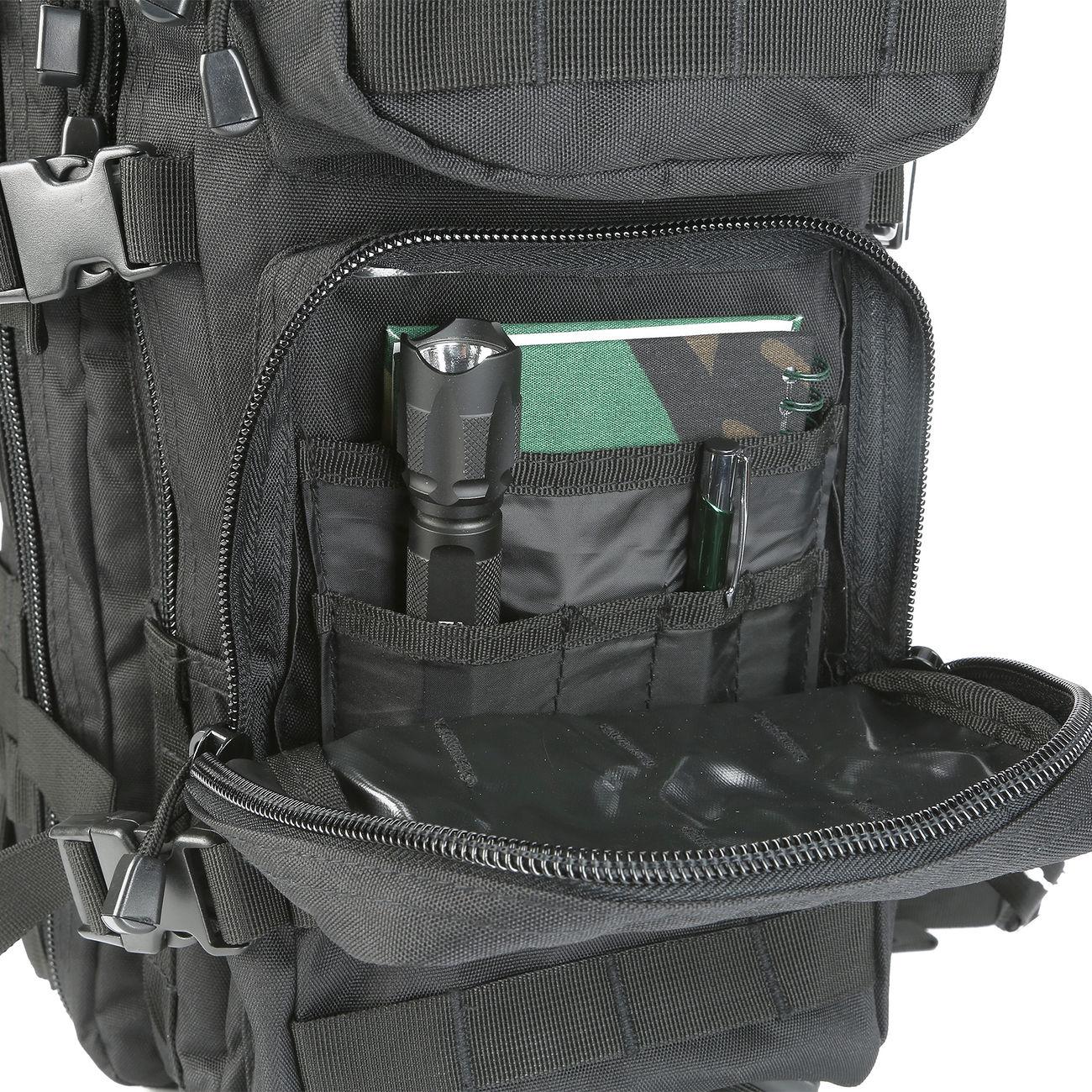 795bd191e58d4 Mil-Tec Rucksack US Assault Pack I 20 Liter schwarz günstig kaufen ...