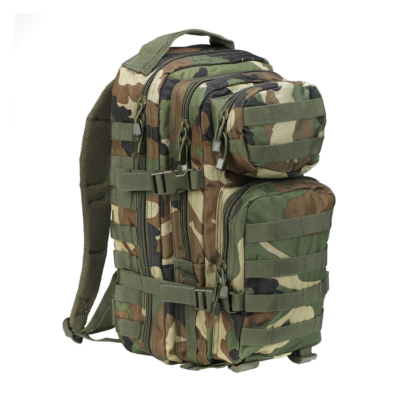Mil-Tec Rucksack US Assault Pack I 20 Liter woodland 0