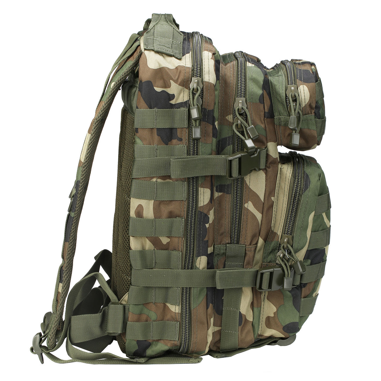 Mil-Tec Rucksack US Assault Pack I 20 Liter woodland 1