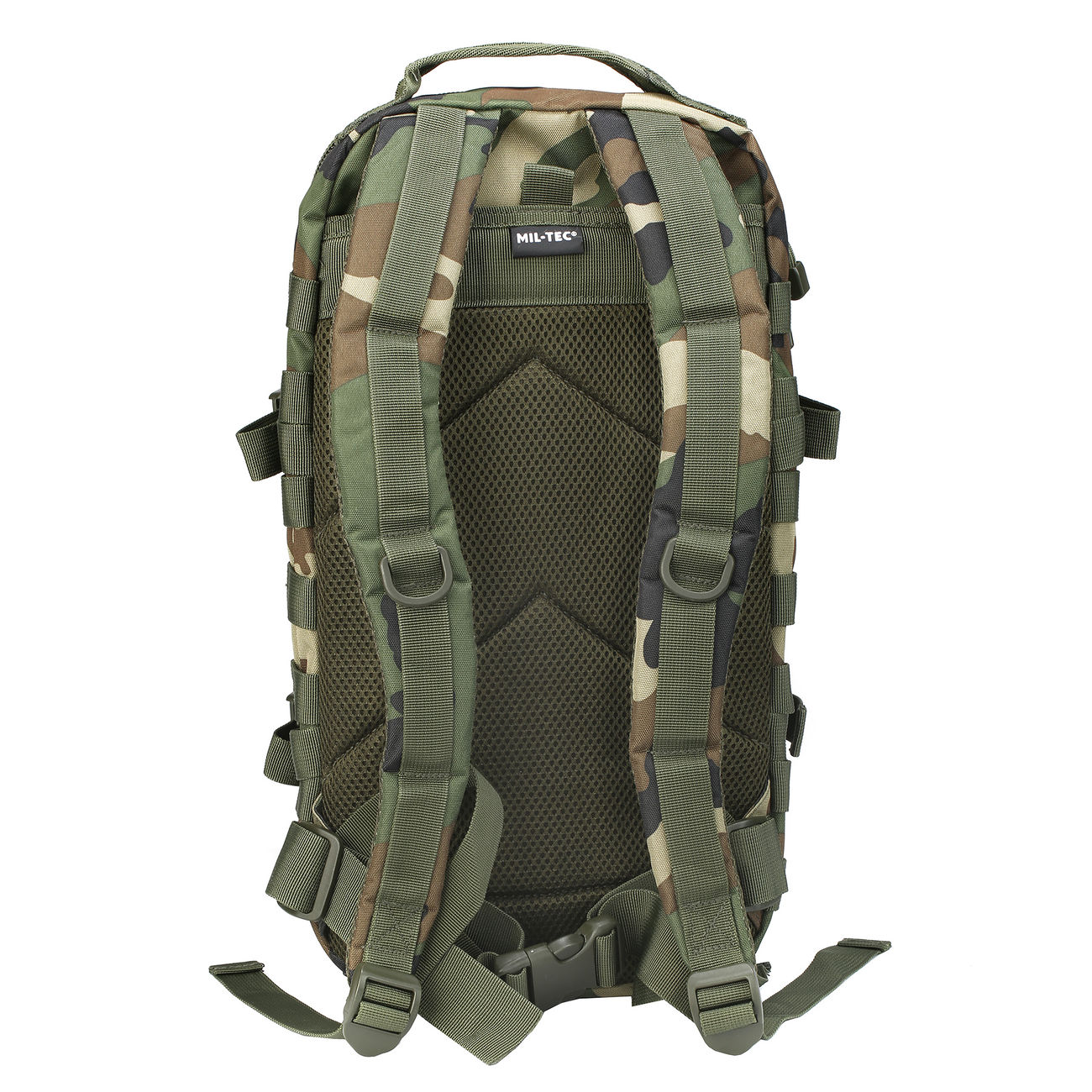 Mil-Tec Rucksack US Assault Pack I 20 Liter woodland 2