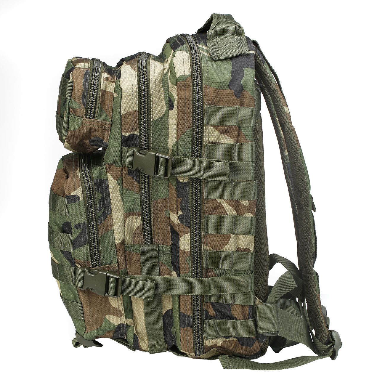 Mil-Tec Rucksack US Assault Pack I 20 Liter woodland 4