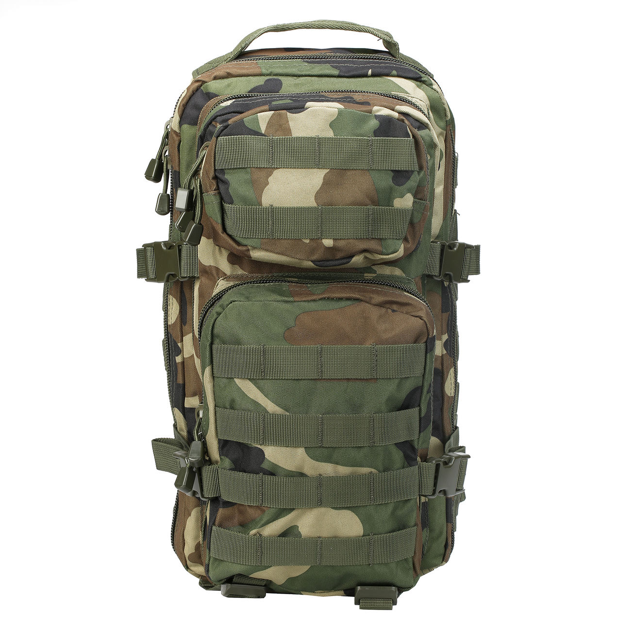 Mil-Tec Rucksack US Assault Pack I 20 Liter woodland 5