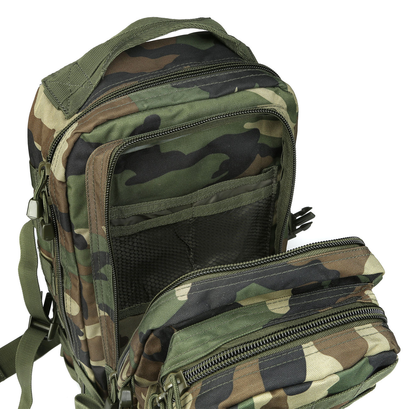 Mil-Tec Rucksack US Assault Pack I 20 Liter woodland 6