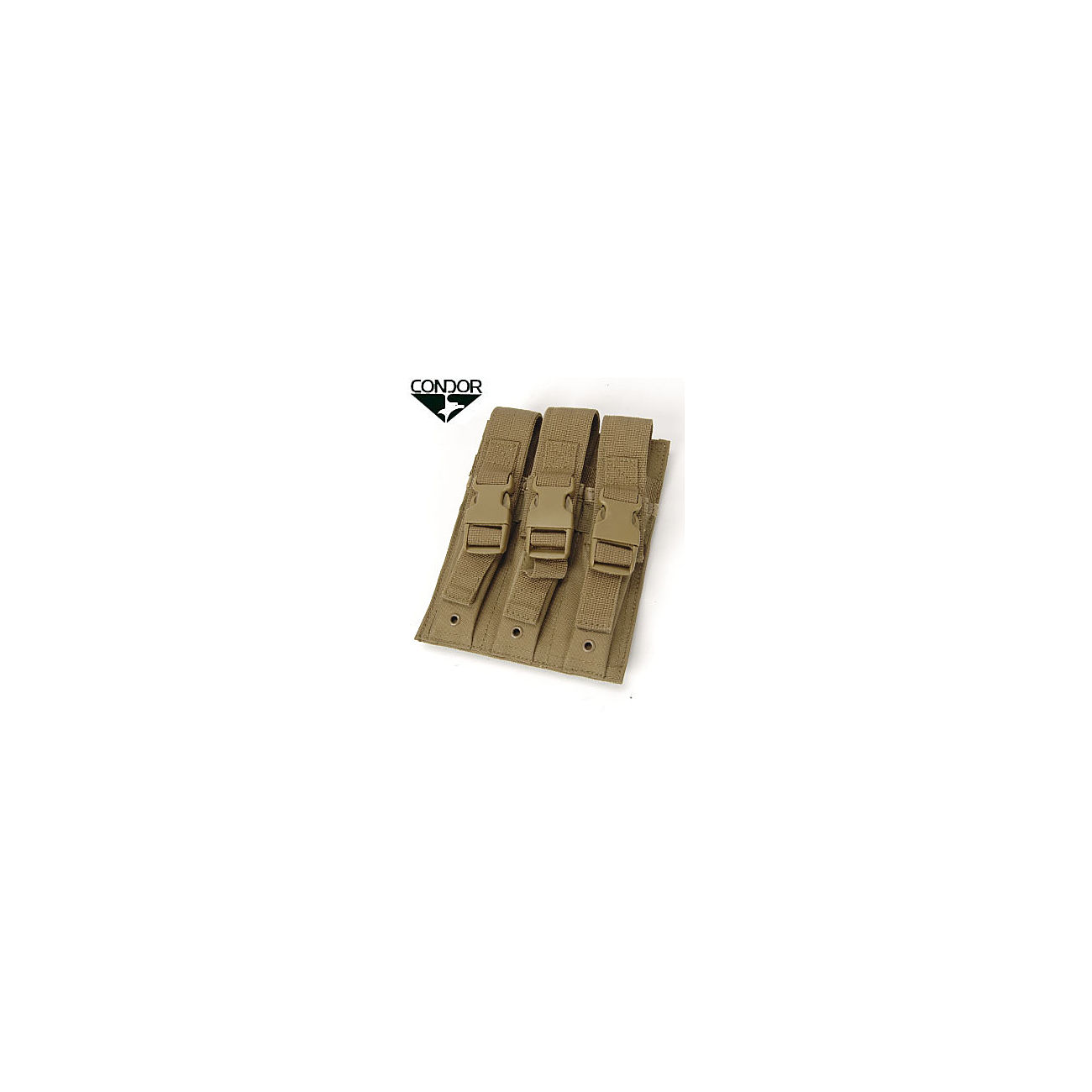 Condor MP5 Triple Magazintasche (3-fach) coyote 0