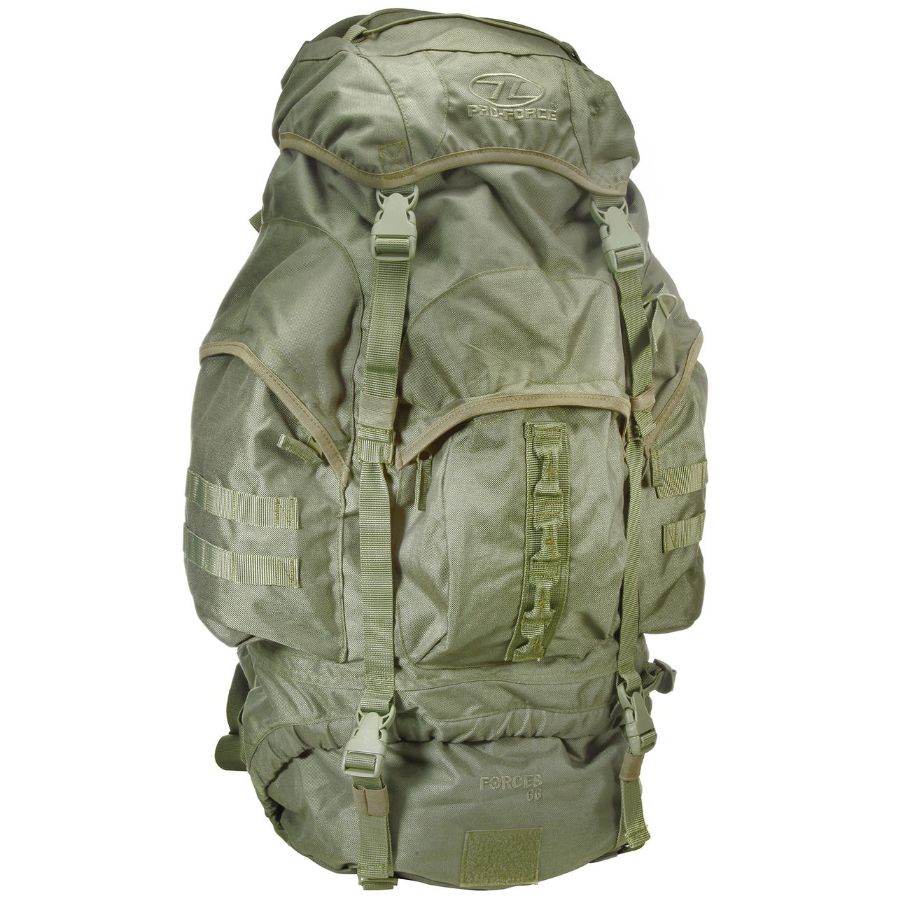 Highlander Rucksack Modell New Forces 66 Liter oliv 1