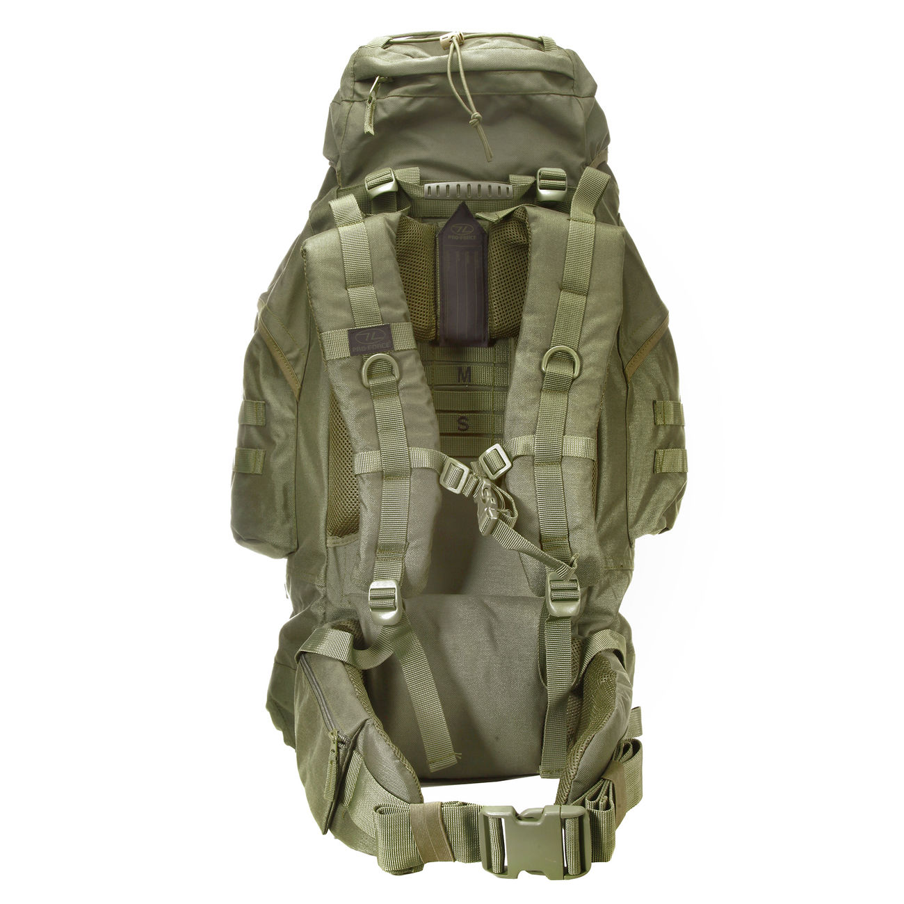 Highlander Rucksack Modell New Forces 66 Liter oliv 3