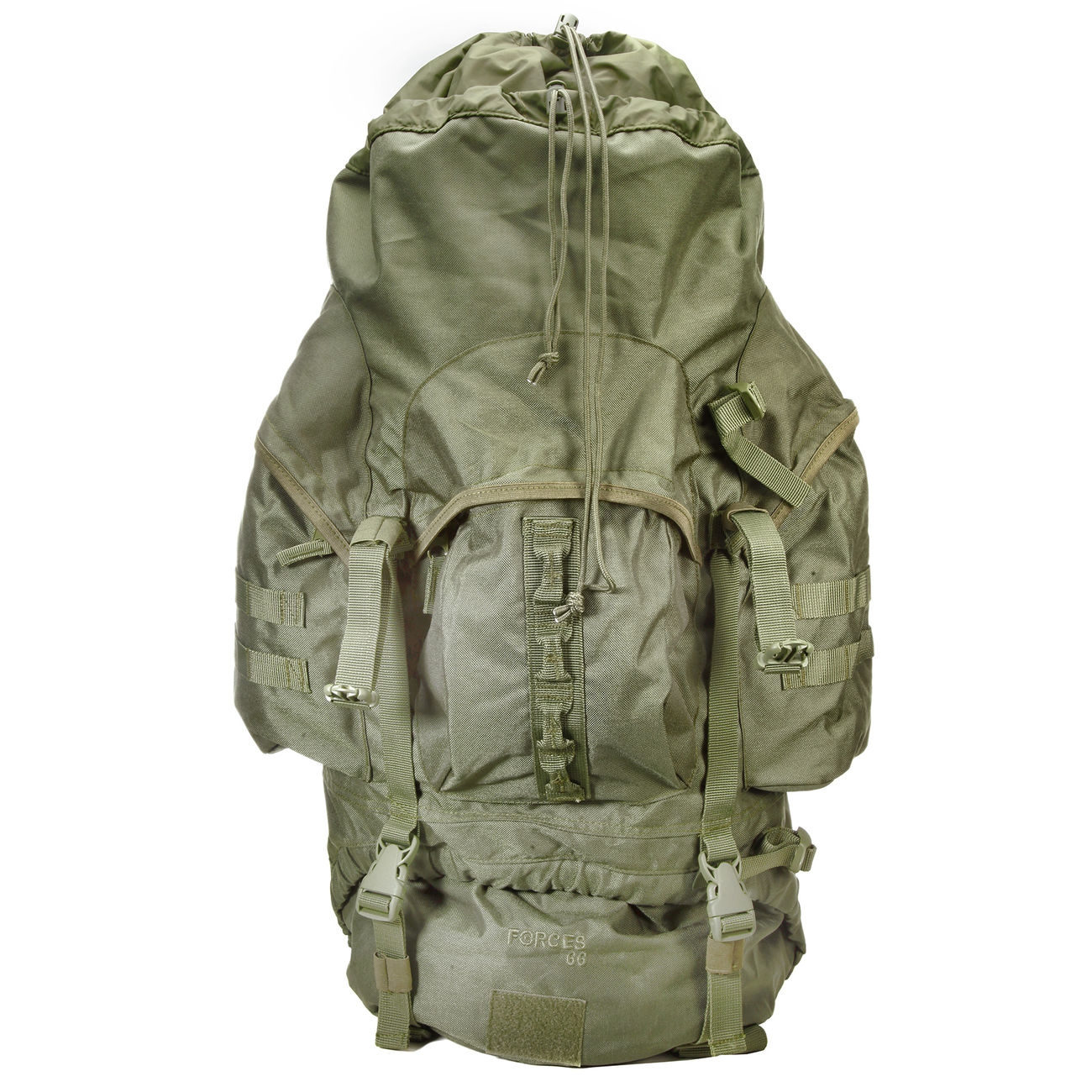 Highlander Rucksack Modell New Forces 66 Liter oliv 6