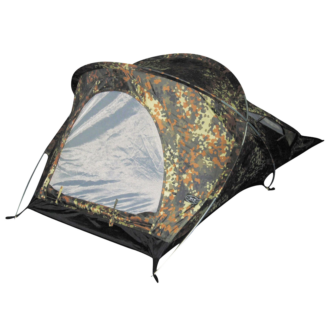MFH Tunnelzelt Osser 1-Person flecktarn 0