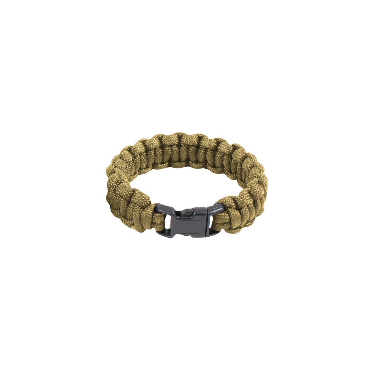 Survival Paracord Bracelet coyote 0