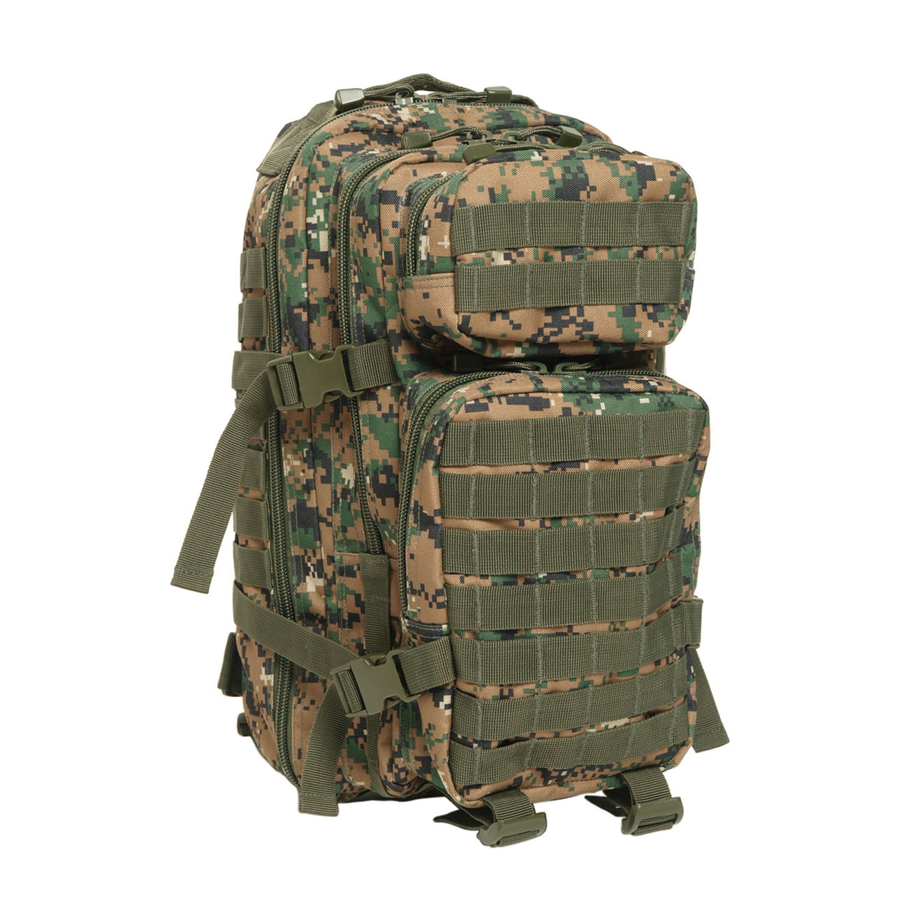 Mil-Tec Rucksack US Assault Pack I 20 Liter digital woodland 0