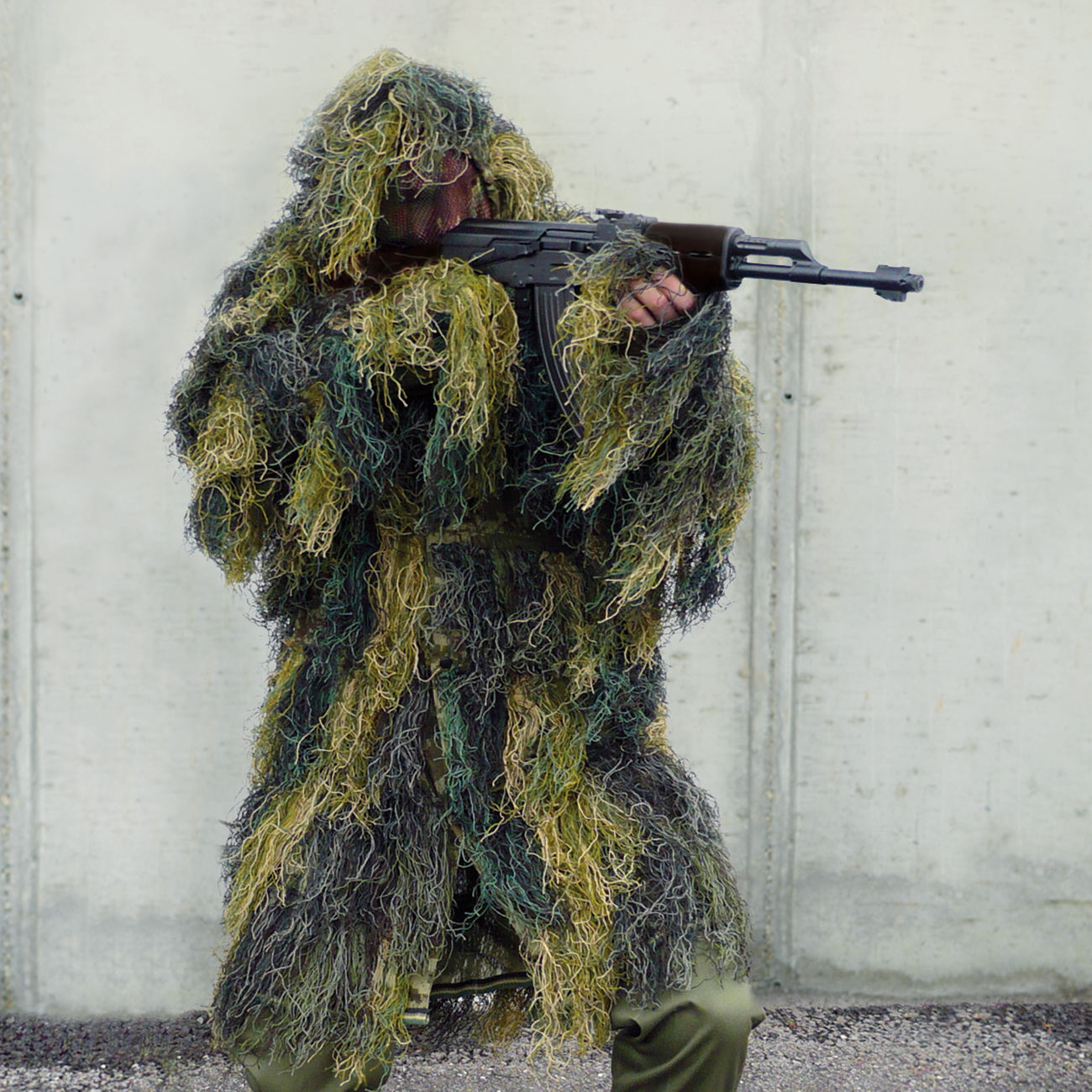 Ghillie Parka Anti-Fire woodland 0
