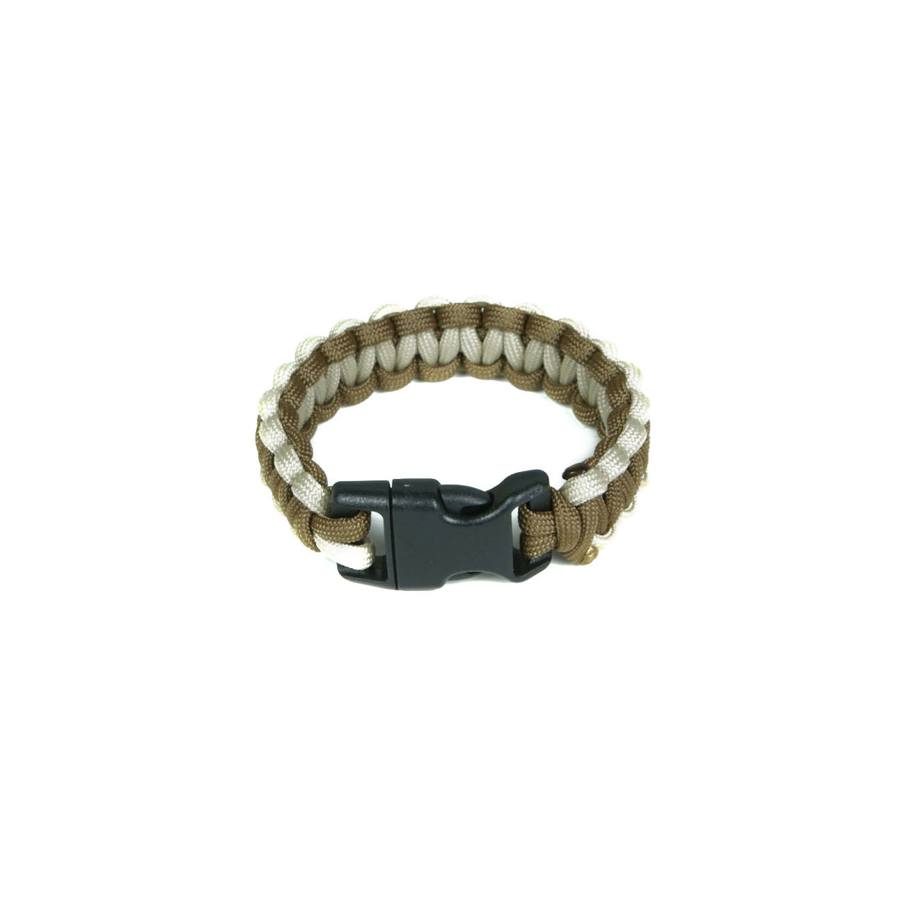 Mil-Spec Cords Cobra Paracord Bracelet coyote / tan 0