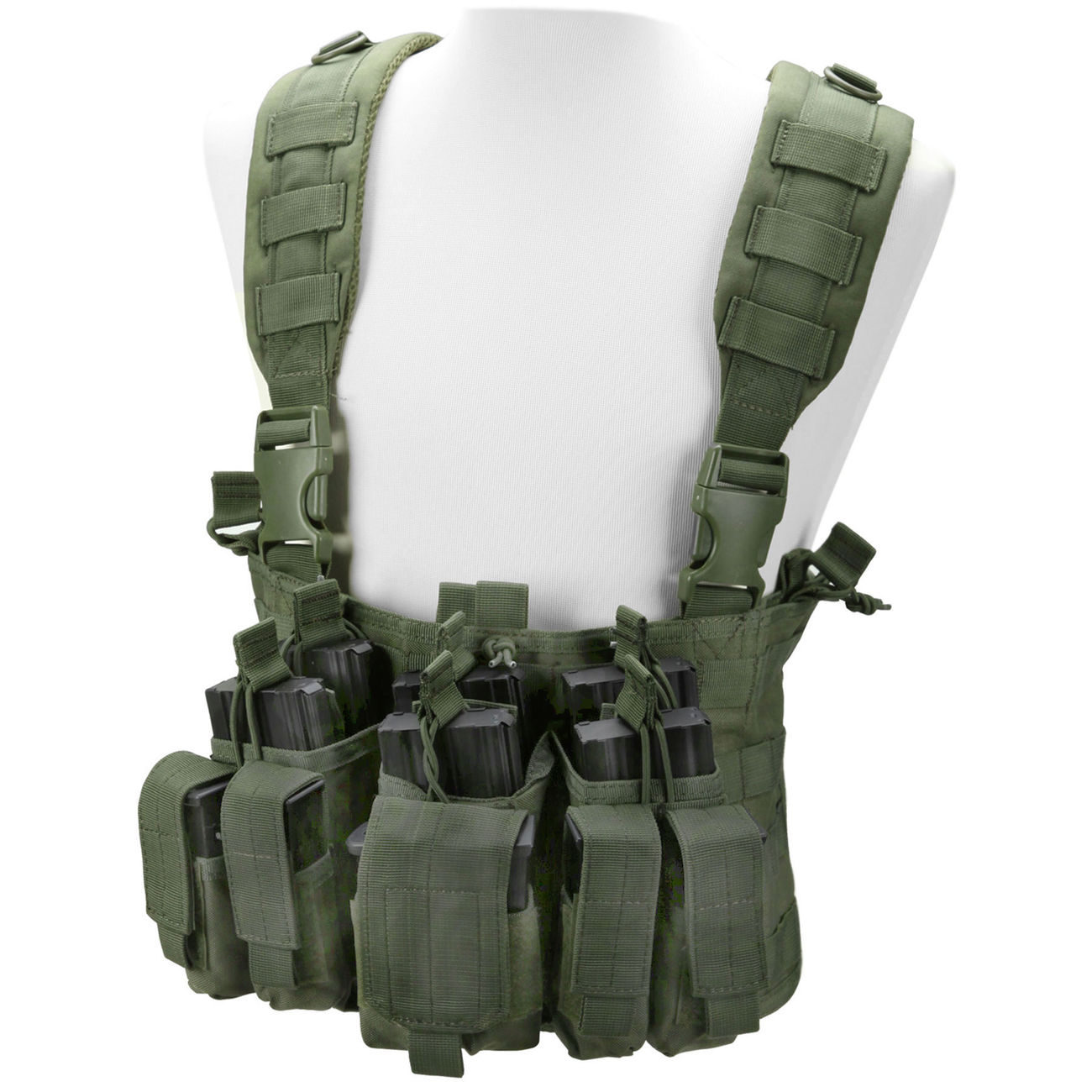 Condor Outdoor Recon Chest Rig oliv 0