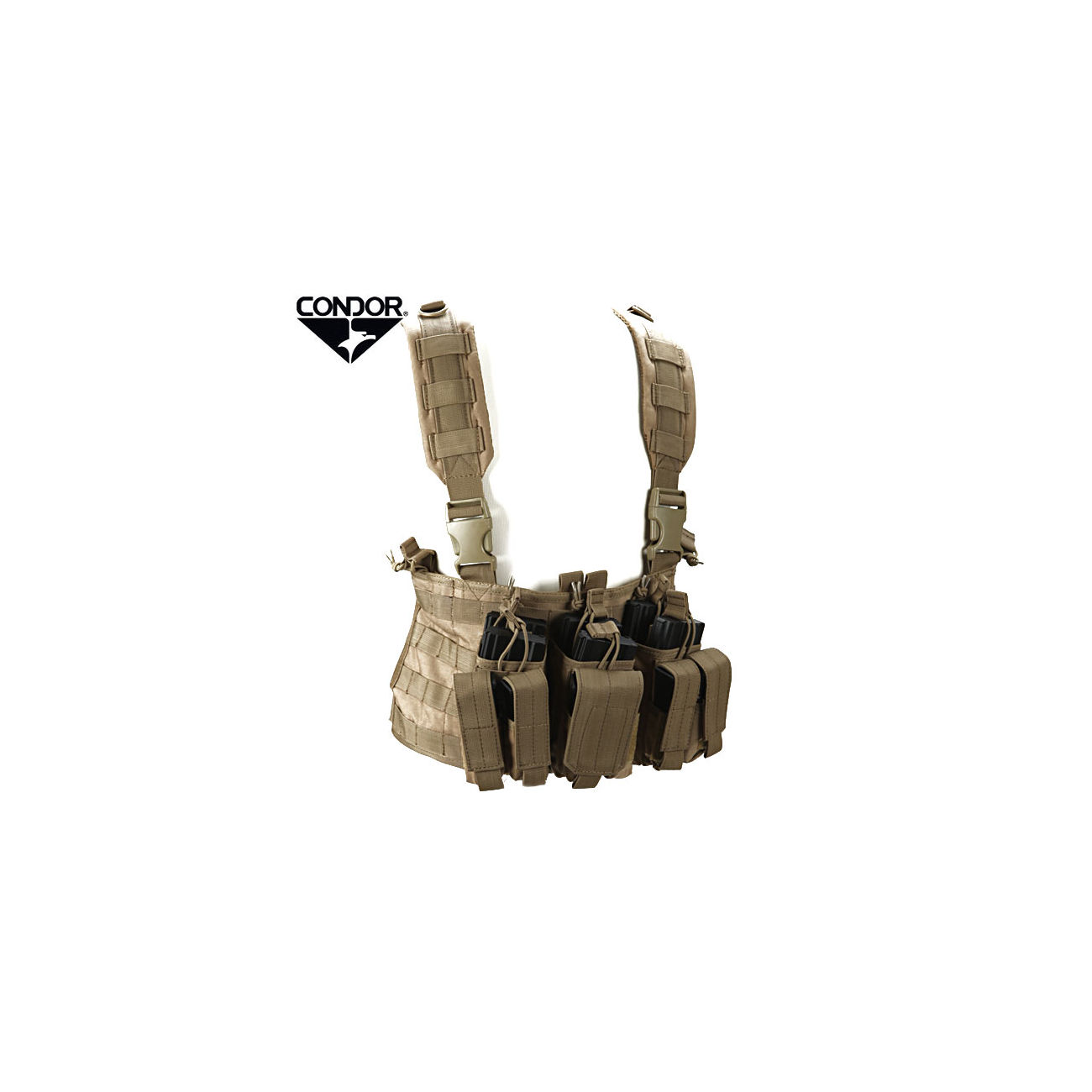 Condor Outdoor Recon Chest Rig coyote 0
