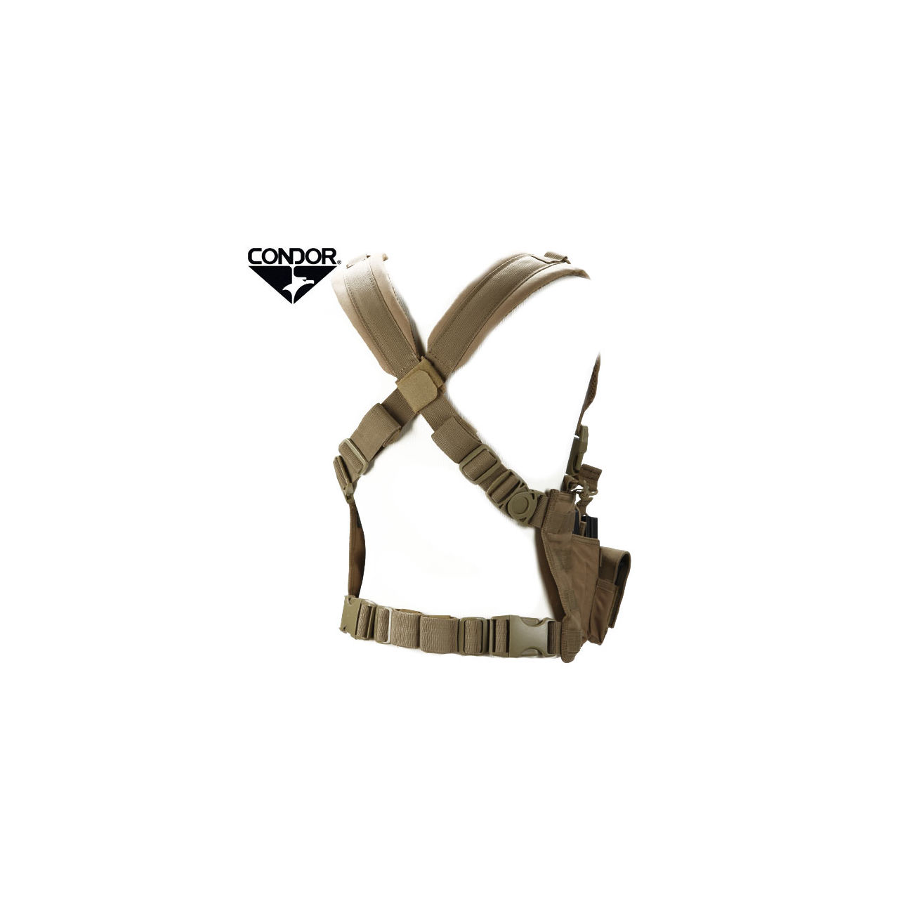 Condor Outdoor Recon Chest Rig coyote 1