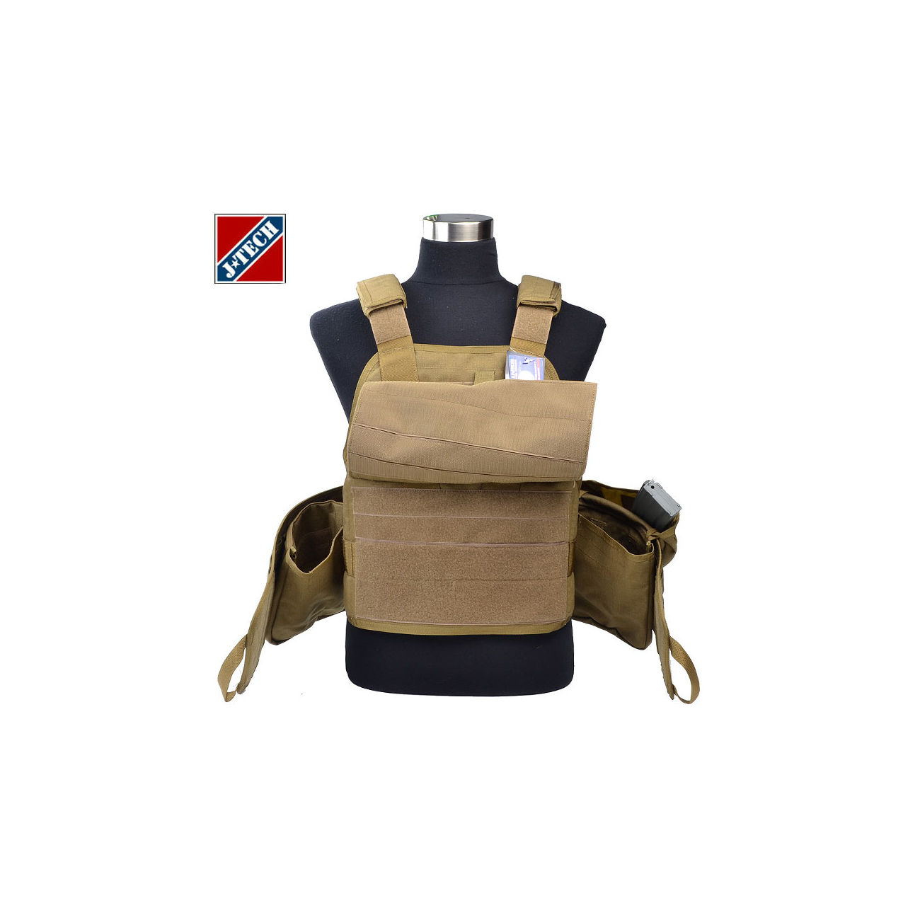 J-Tech USMC Aegis IV Outer Shell Plate Carrier coyote 2