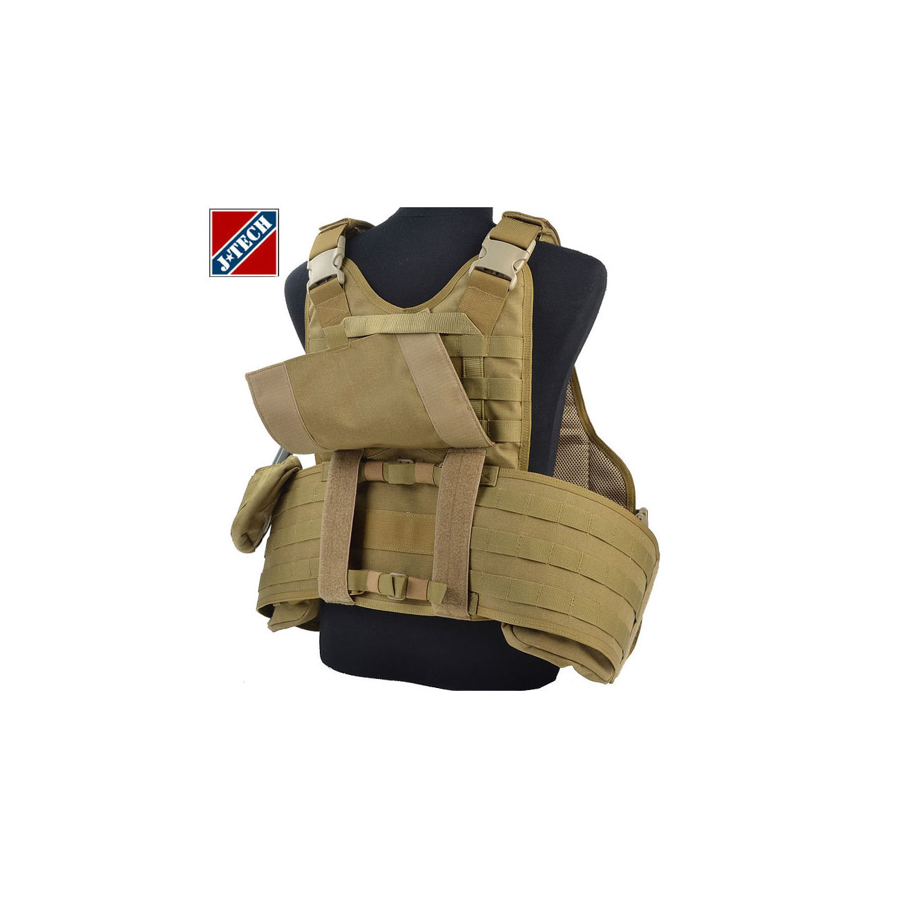 J-Tech USMC Aegis IV Outer Shell Plate Carrier coyote 3