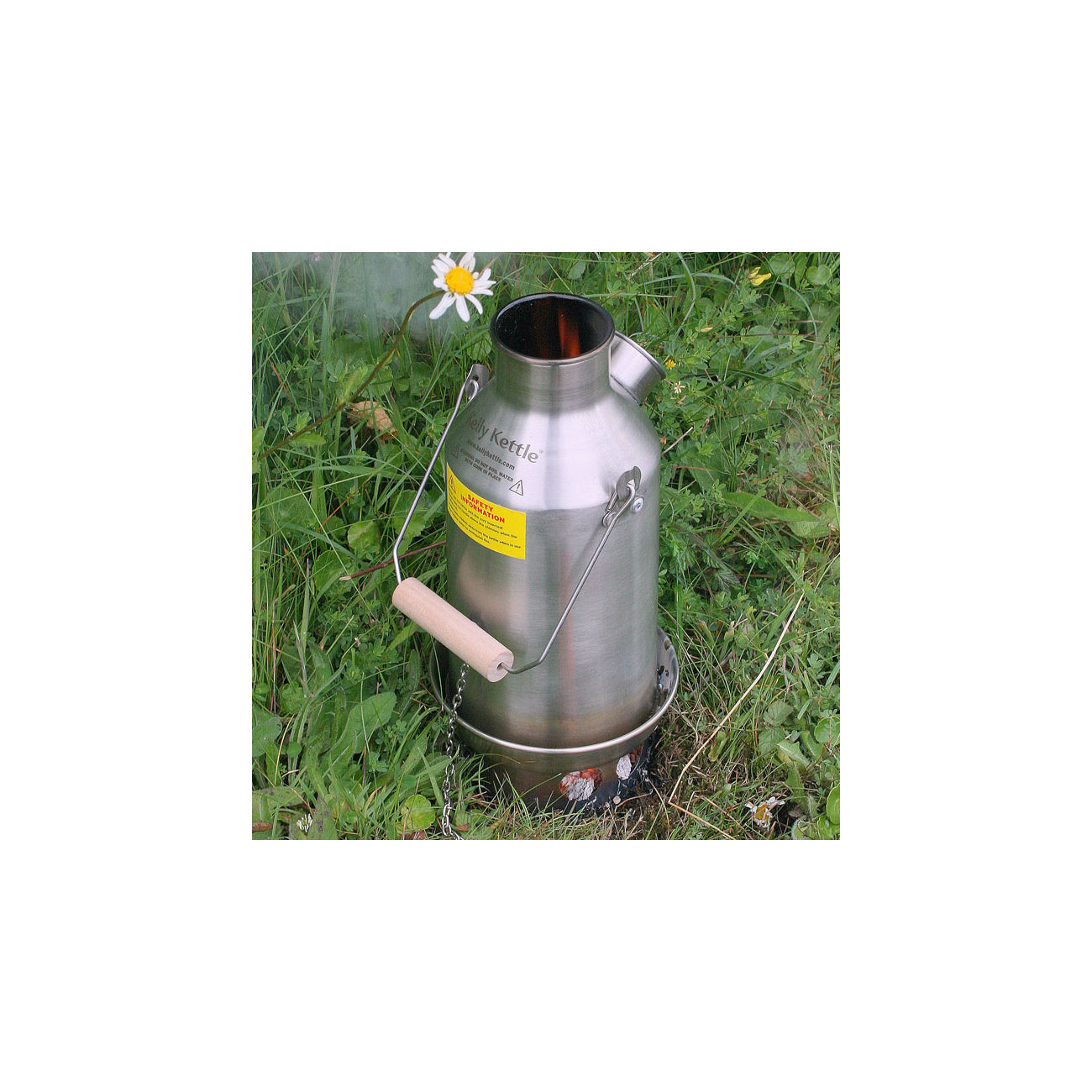 Kelly Kettle Sturmkanne Base Camp SST groß 1,5 L 3