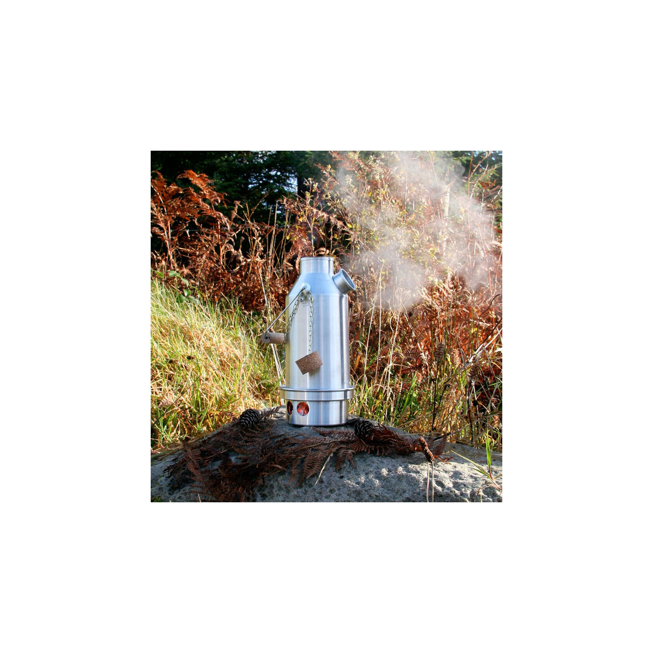 Kelly Kettle Sturmkanne Base Camp SST groß 1,5 L 4