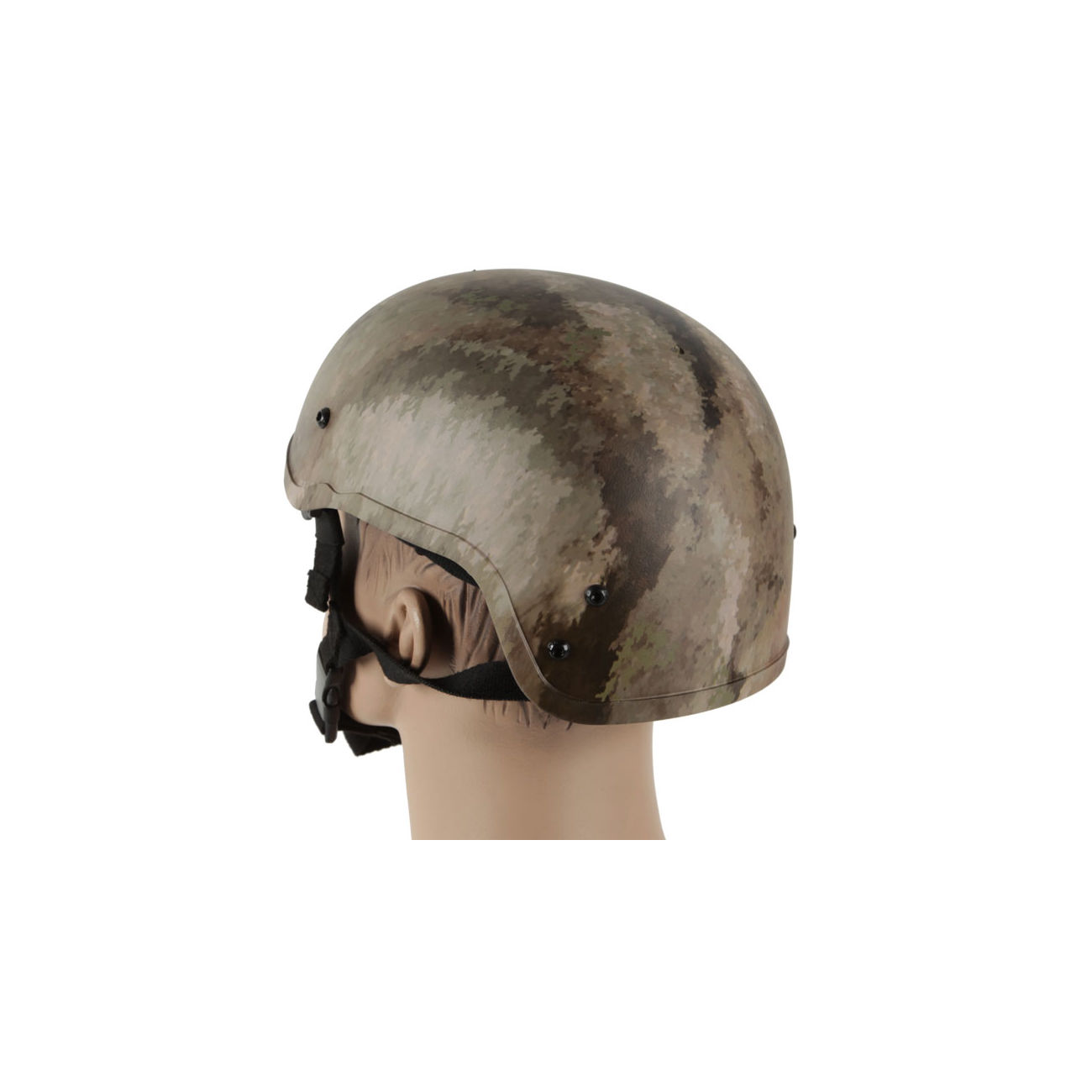 Bravo Airsoft MICH 2001 LW Helm Replika AT Camo 1