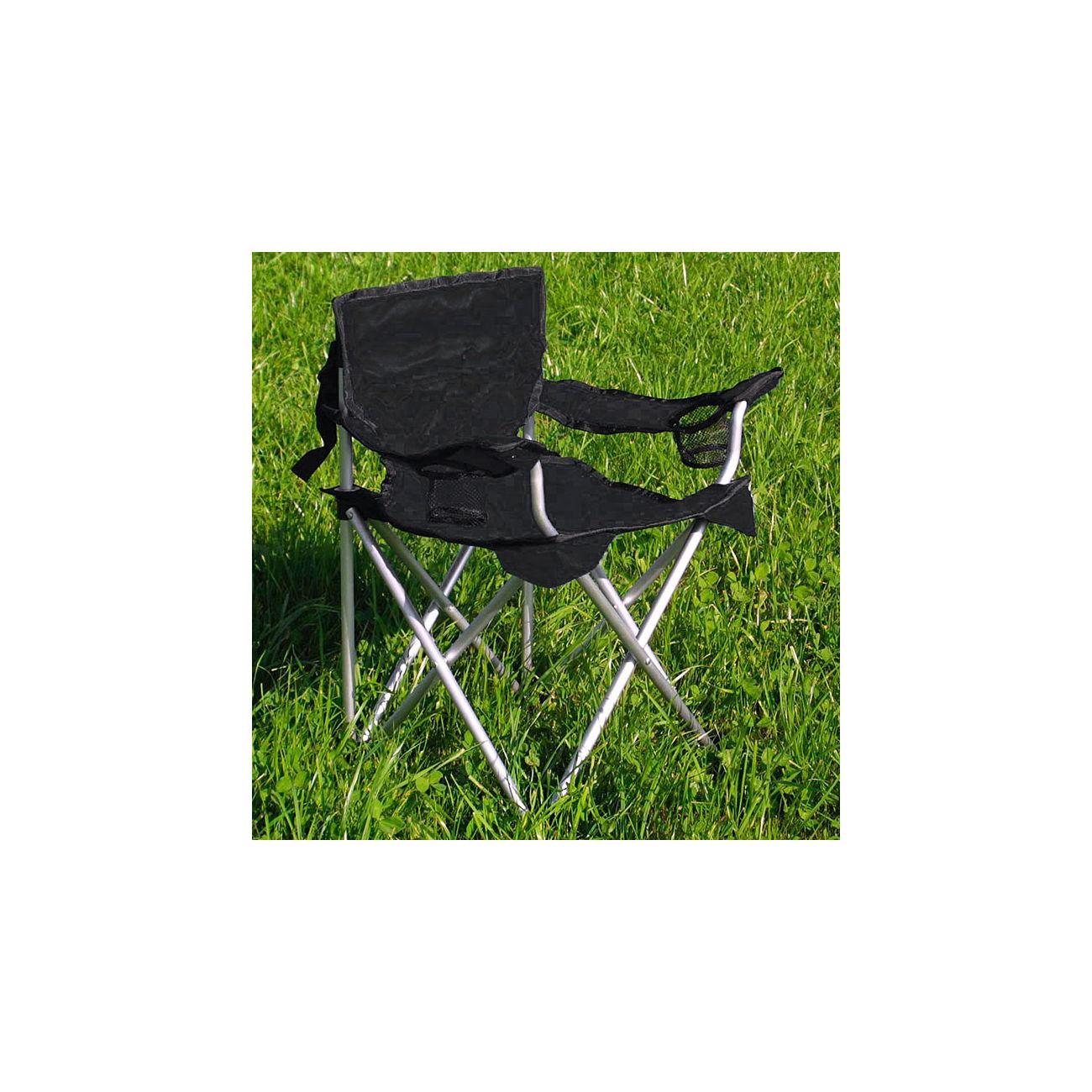 camping stuhl travelchair komfort kinder schwarz kotte. Black Bedroom Furniture Sets. Home Design Ideas