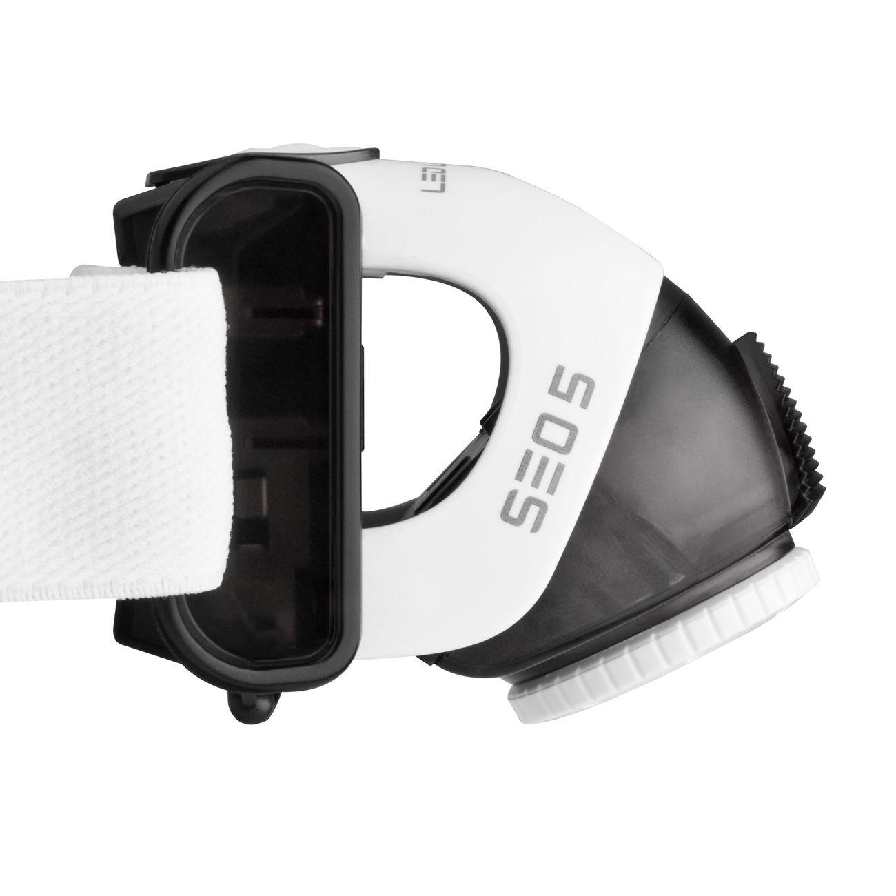led lenser stirnlampe seo5 180 lumen grau kotte zeller. Black Bedroom Furniture Sets. Home Design Ideas
