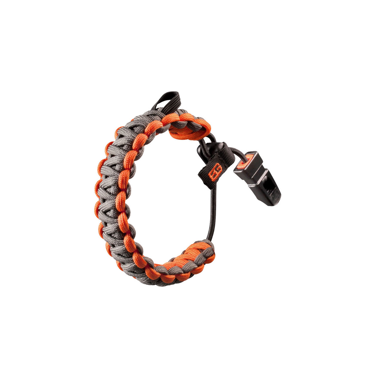 Bear Grylls Paracord Survival Armband Bracelet orange silber 0