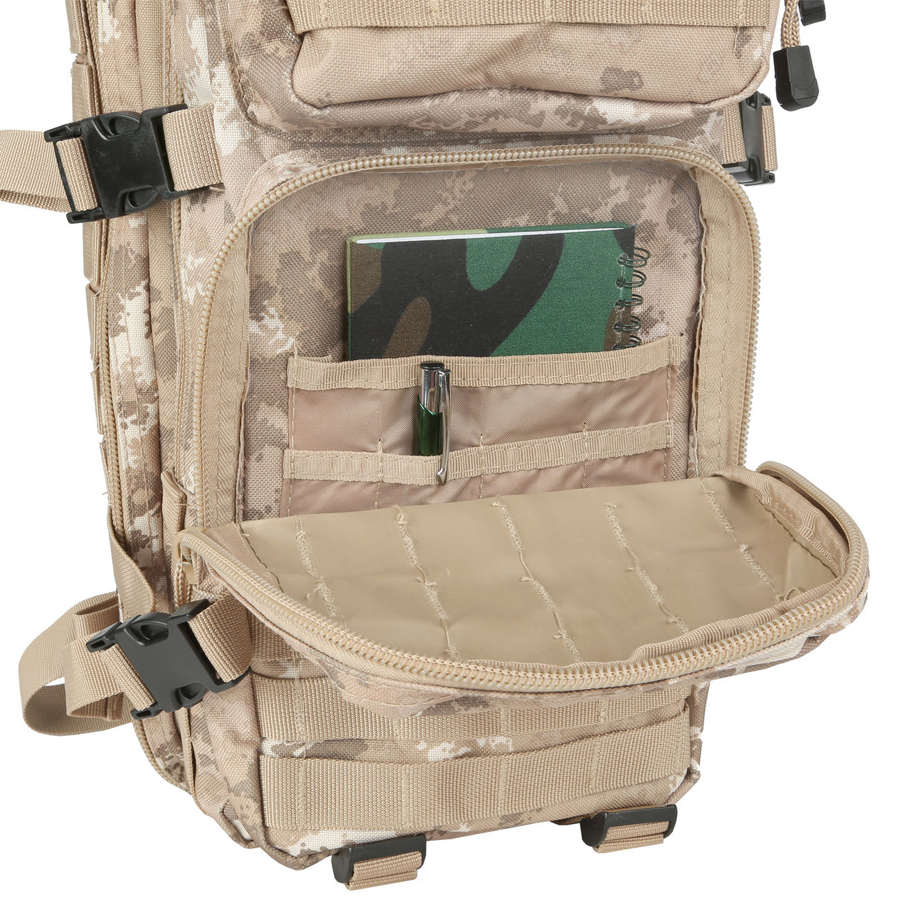MFH Rucksack Assault I vegetato desert 9