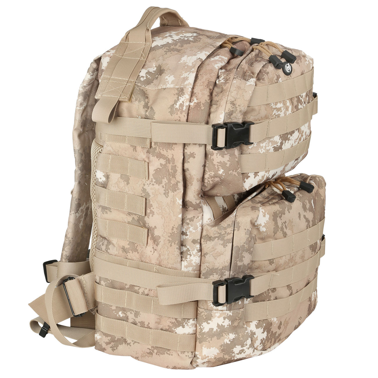 MFH Rucksack US Assault II vegetato desert 0
