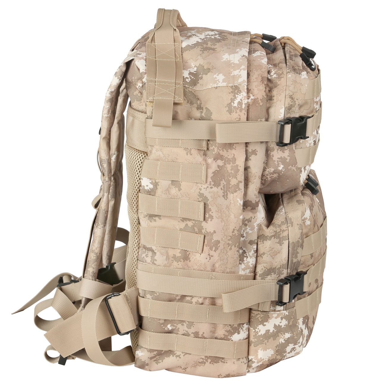 MFH Rucksack US Assault II vegetato desert 1