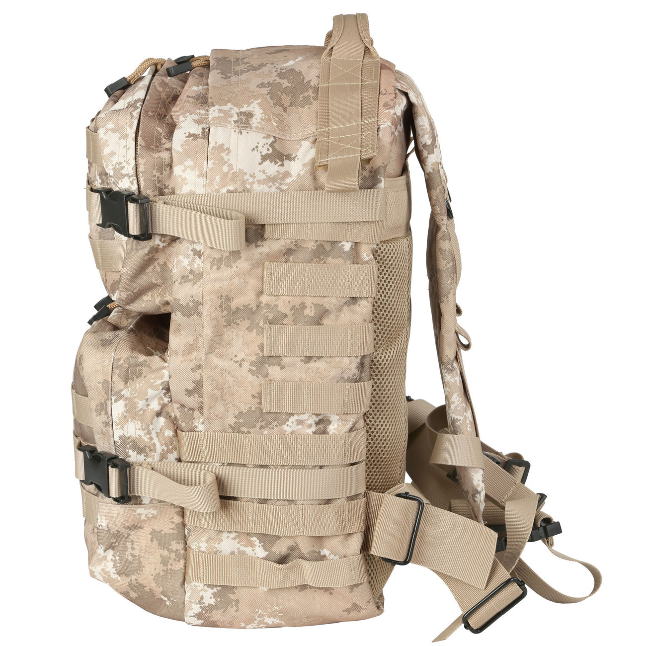 MFH Rucksack US Assault II vegetato desert 2