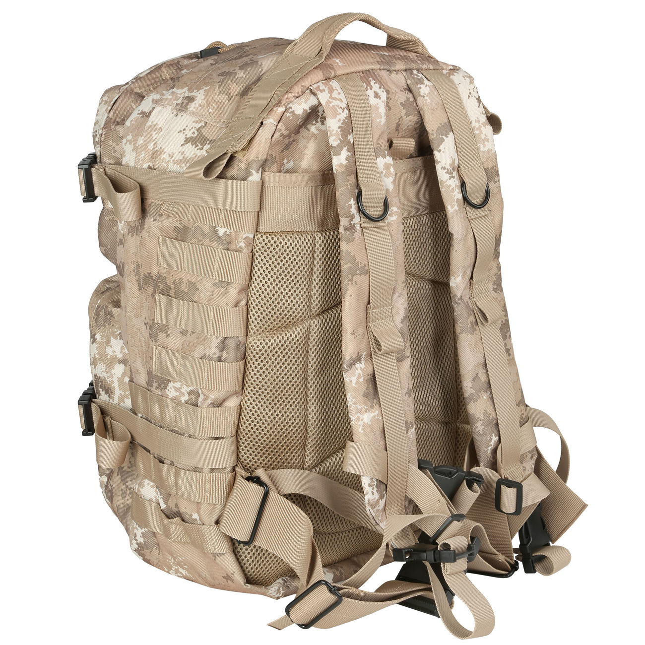 MFH Rucksack US Assault II vegetato desert 3
