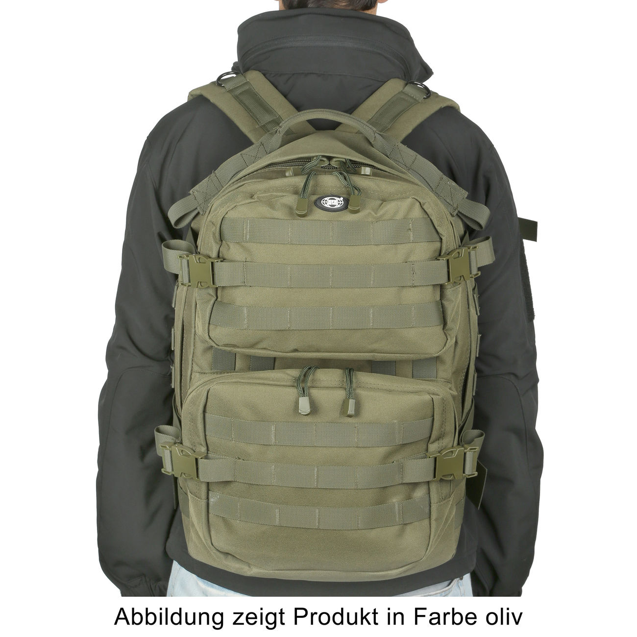 MFH Rucksack US Assault II vegetato desert 4