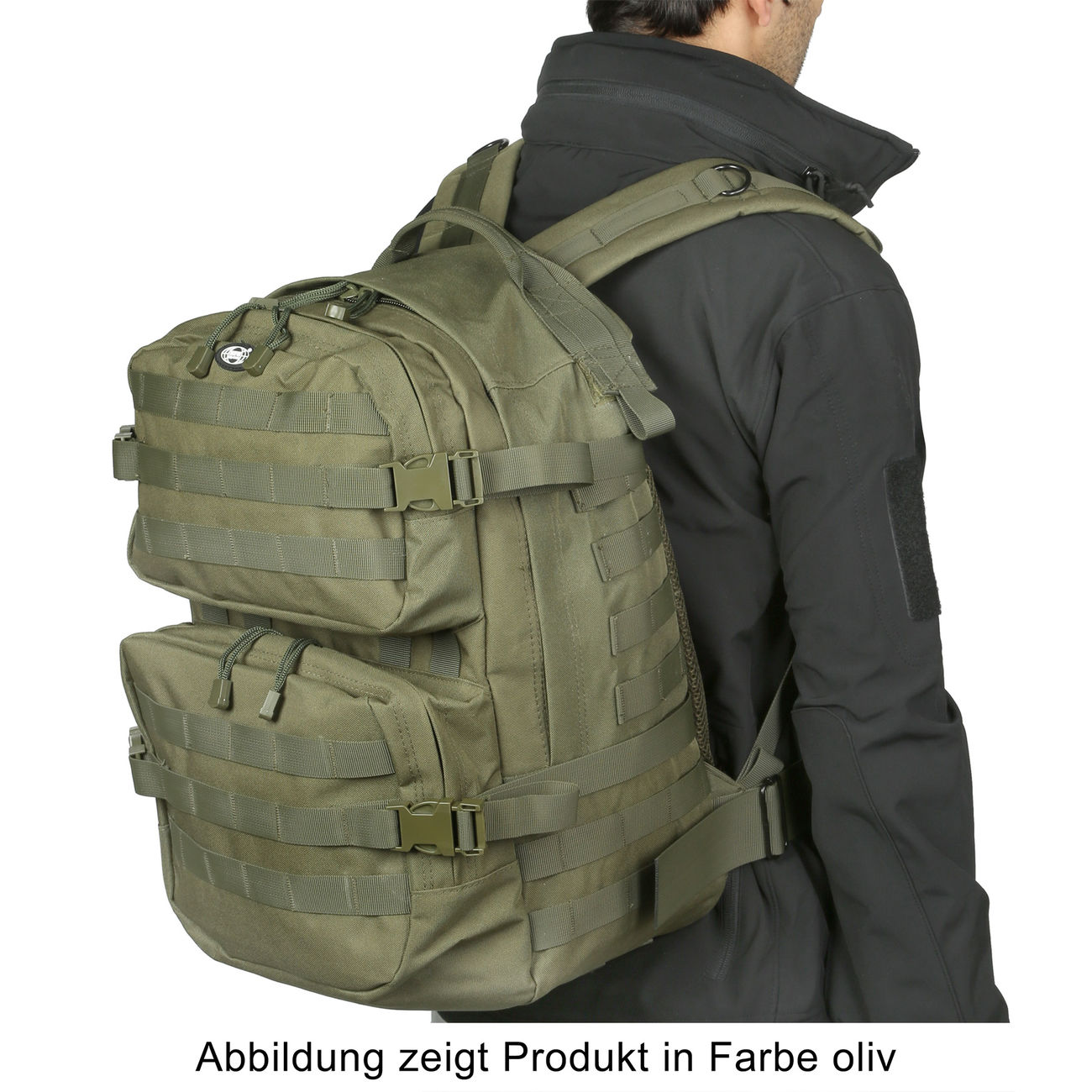 MFH Rucksack US Assault II vegetato desert 5