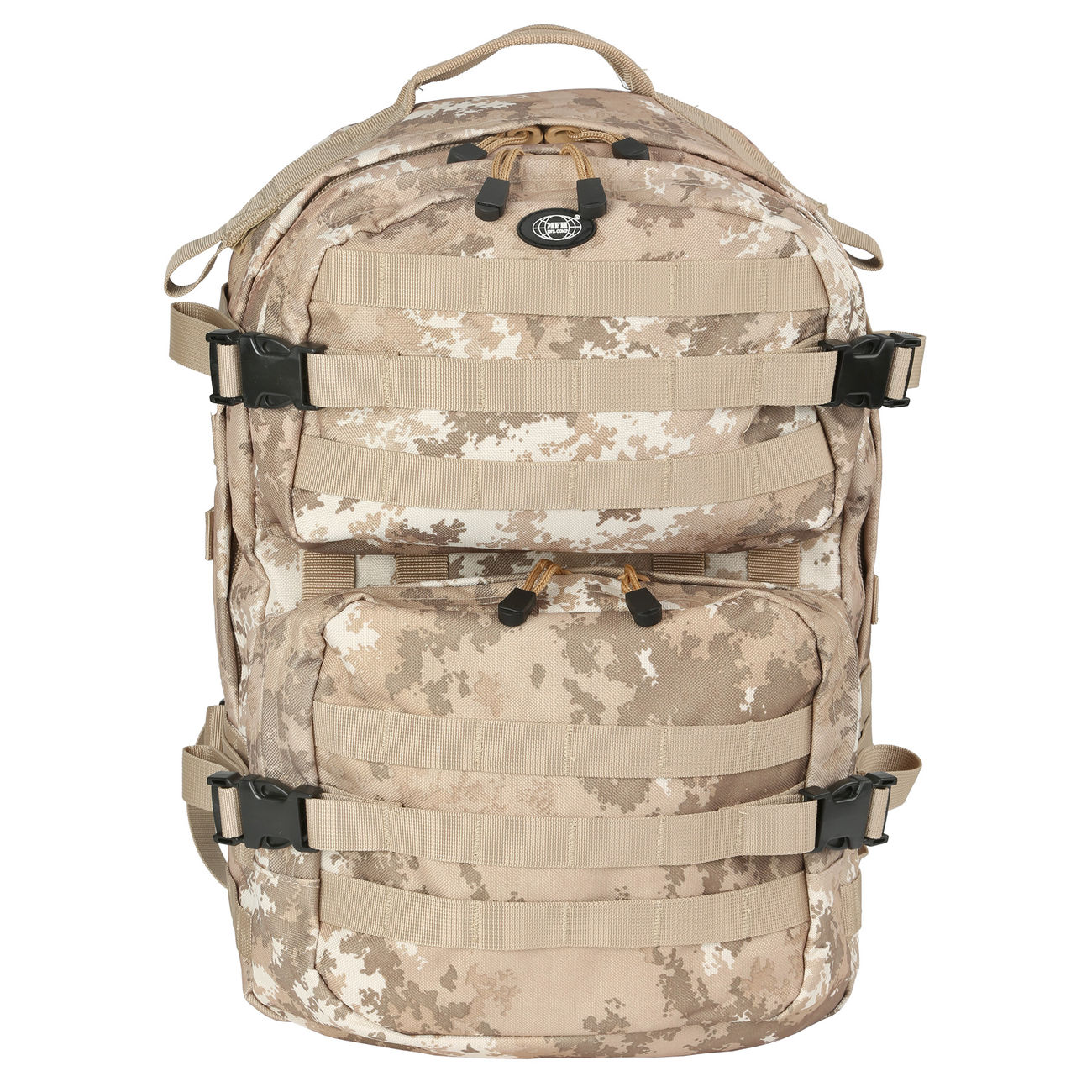 MFH Rucksack US Assault II vegetato desert 6