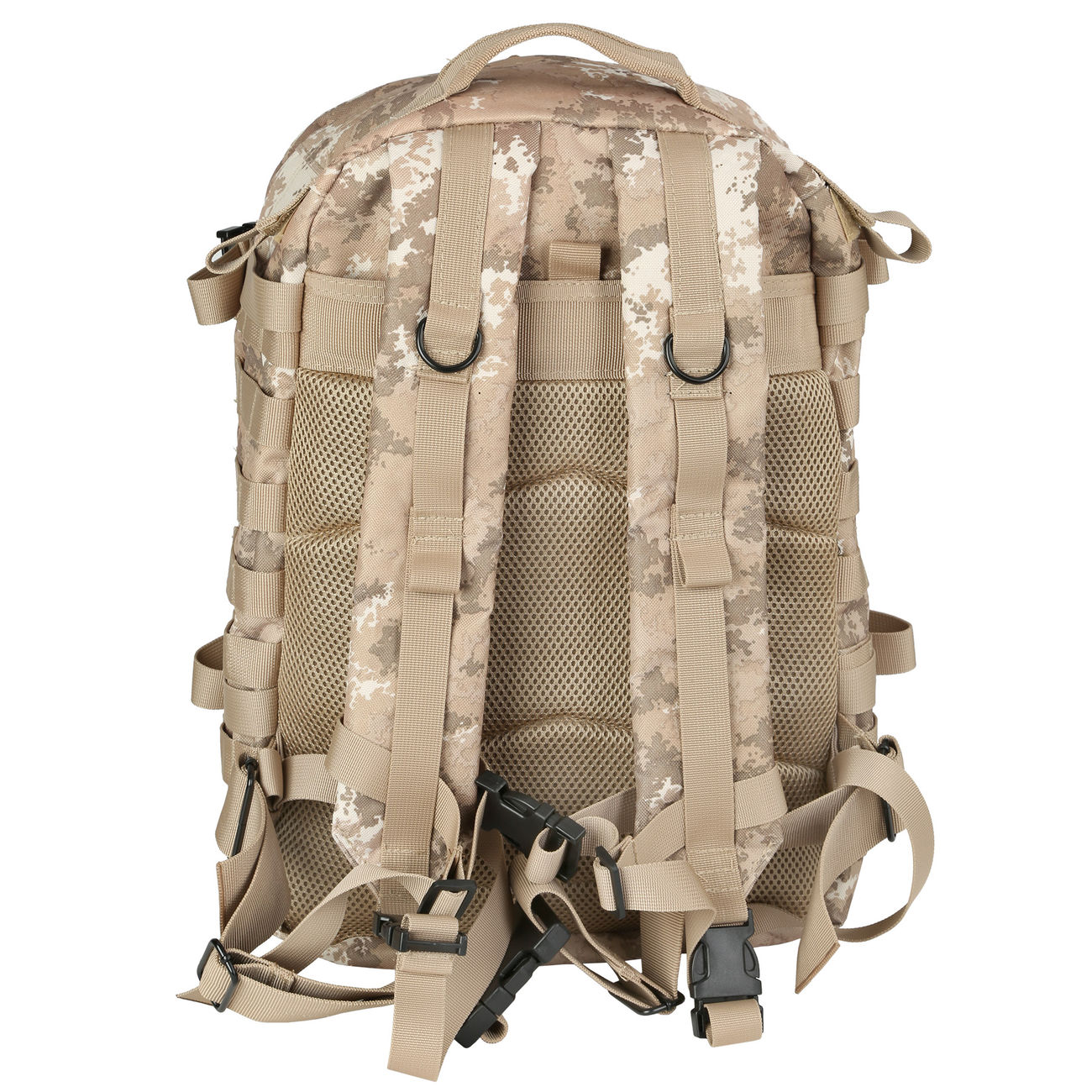 MFH Rucksack US Assault II vegetato desert 7