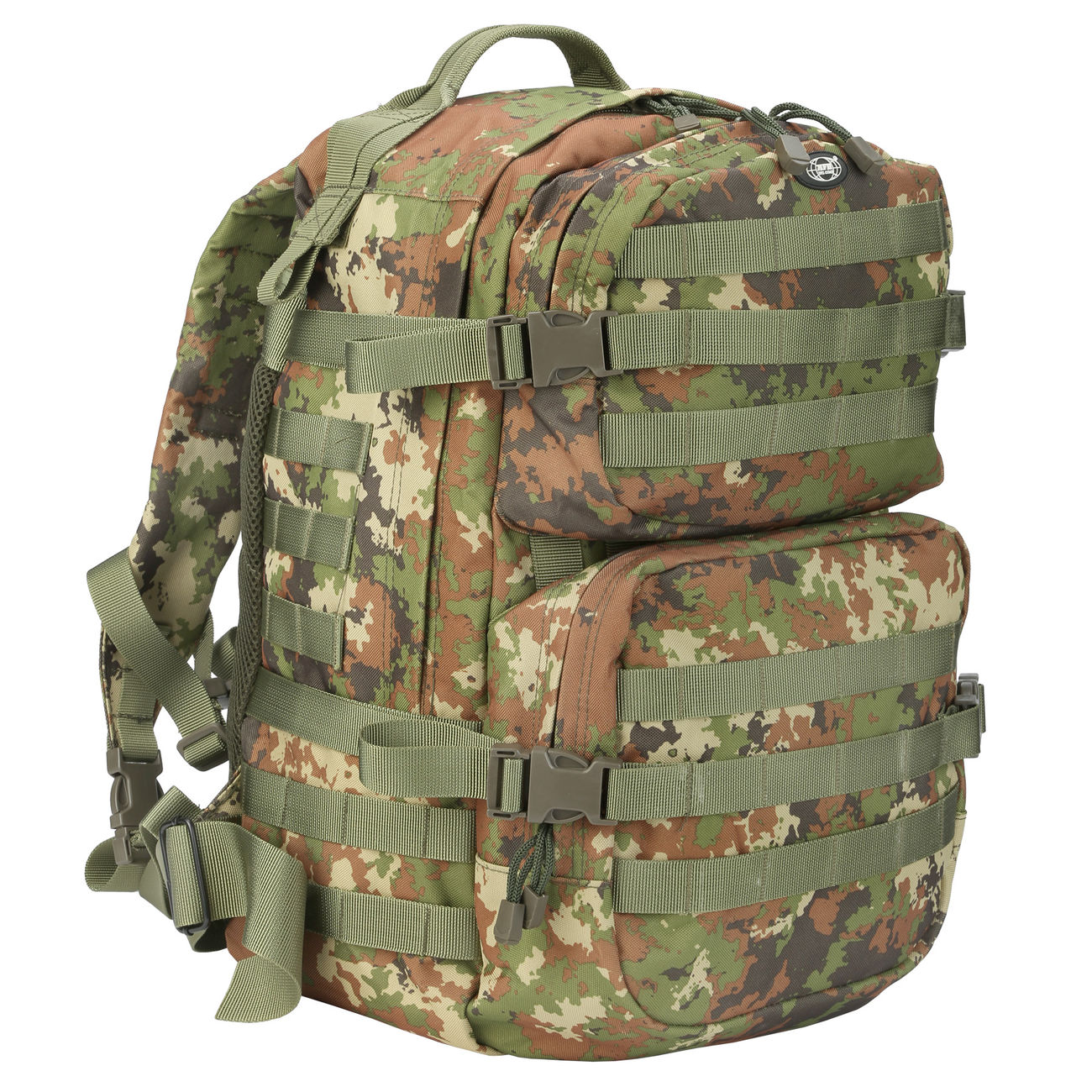 MFH Rucksack US Assault II vegetato 0