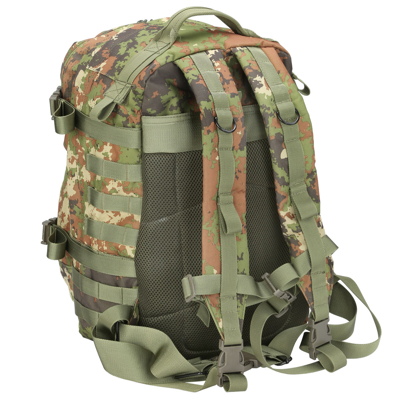 MFH Rucksack US Assault II vegetato 3