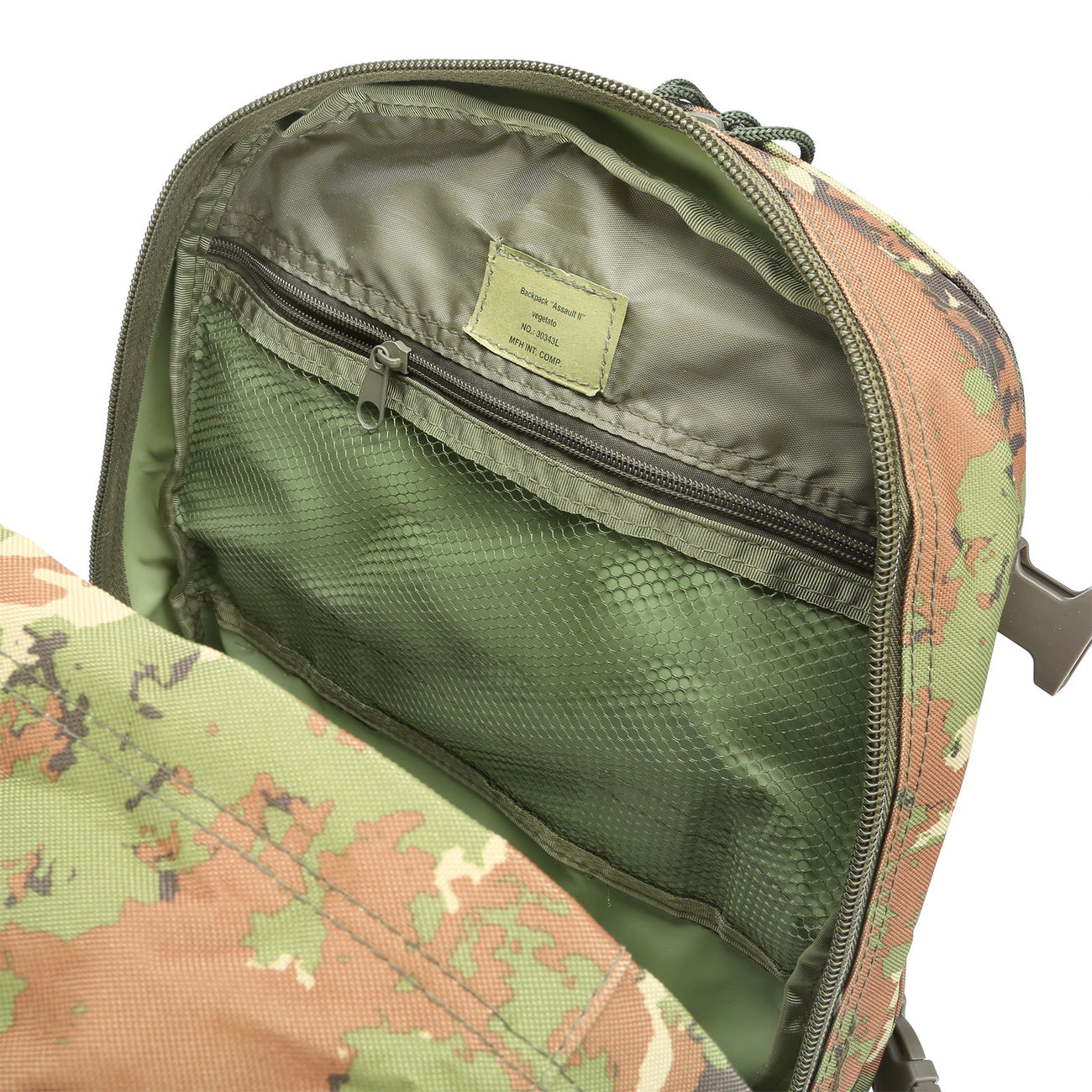 MFH Rucksack US Assault II vegetato 8